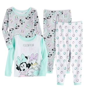 2 Pairs Minnie Mouse PJs